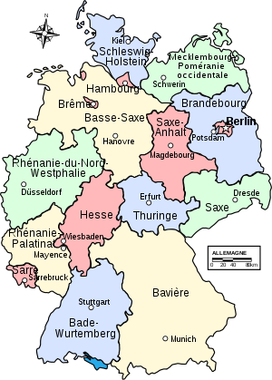 Regions of Germany