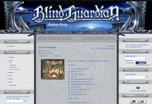 Blind Guardian Shop